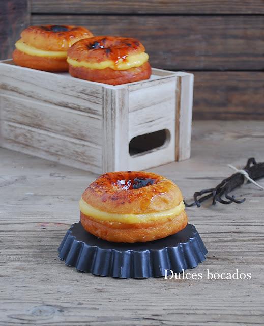 Donuts de crème brûlée - Dulces bocados