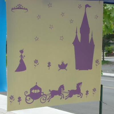 princess vinyl decals