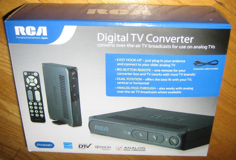 rca dtv tuner manual open source user manual u2022 rh dramatic varieties com Line to RCA Converter RCA Converter Box Manual DTA800B