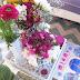 Flowers in the Cofee table to wellcome spring! - Flores na mesa de Centro dão as Benvindas à Primavera!