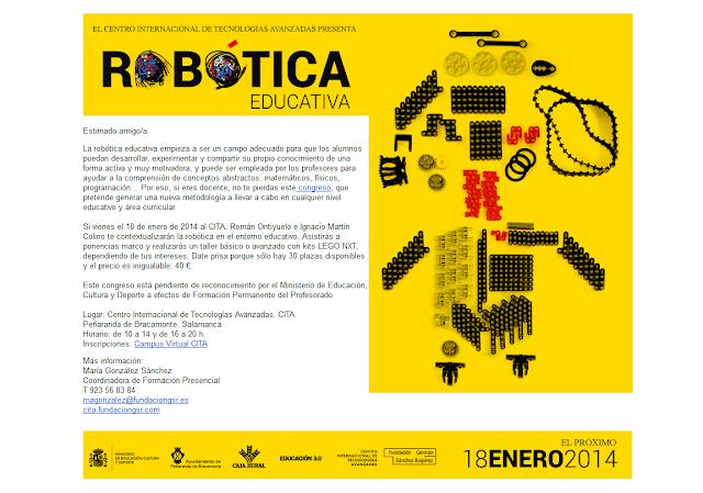 http://cita.fundaciongsr.com/1075/El-CITA-abre-el-plazo-de--inscripcion-de-Robotica-educativa-congreso-que-se-llevara-a-cabo-el-18-de-enero