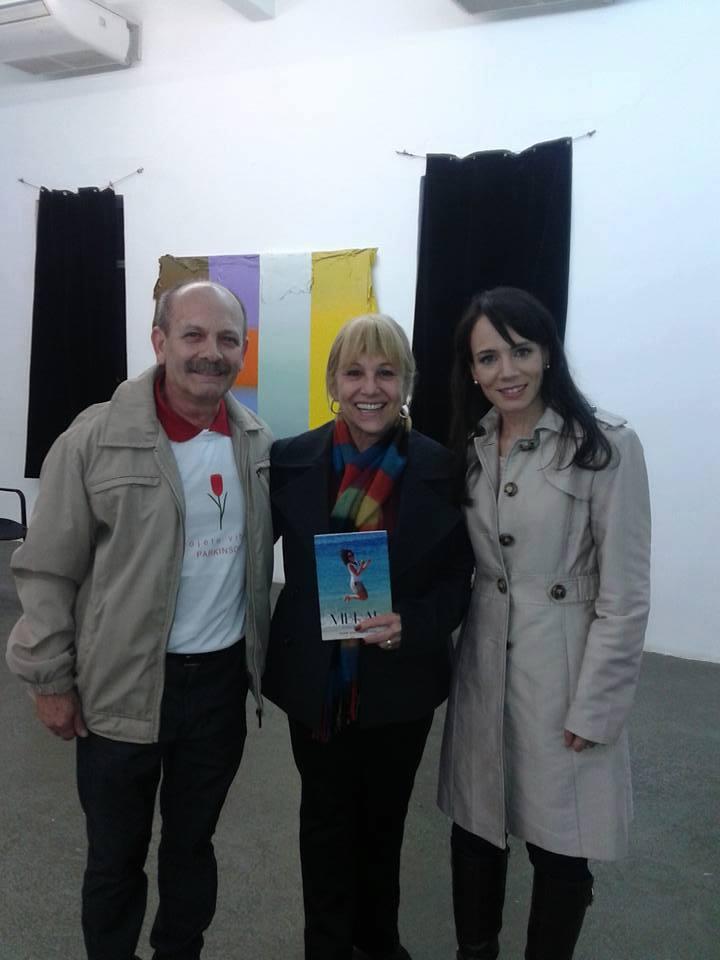 Manoel, Danielle e Teresa Fusaro