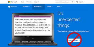 Windows 10 espionne