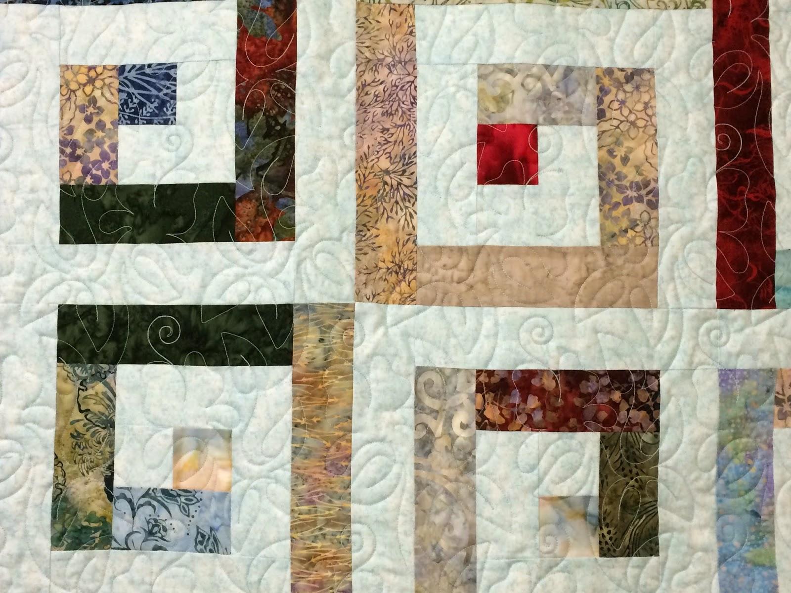 Peggy Krebs Running Squares Quilt