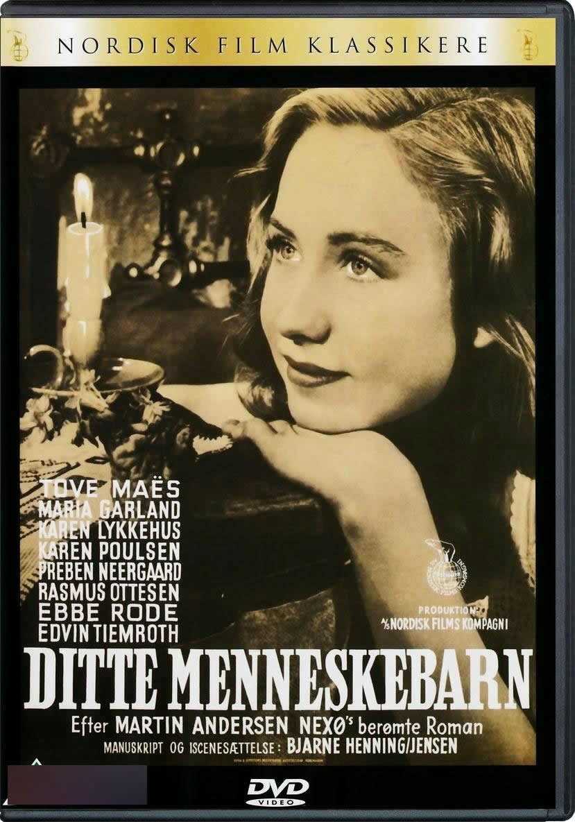 Дитте - дитя человеческое / Ditte menneskebarn. 1946.