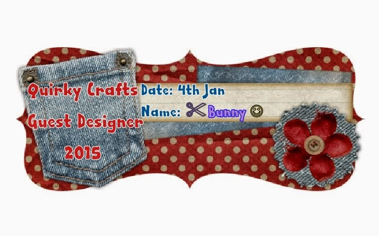 Quirky Crafts January Guest Designer