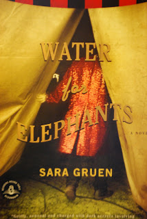 book, bestseller, water for elephants, circus