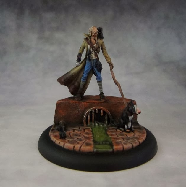 Painted Wyrd Miniature Hamelin the Rat Catcher