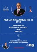 Aku Janji BN Pahang