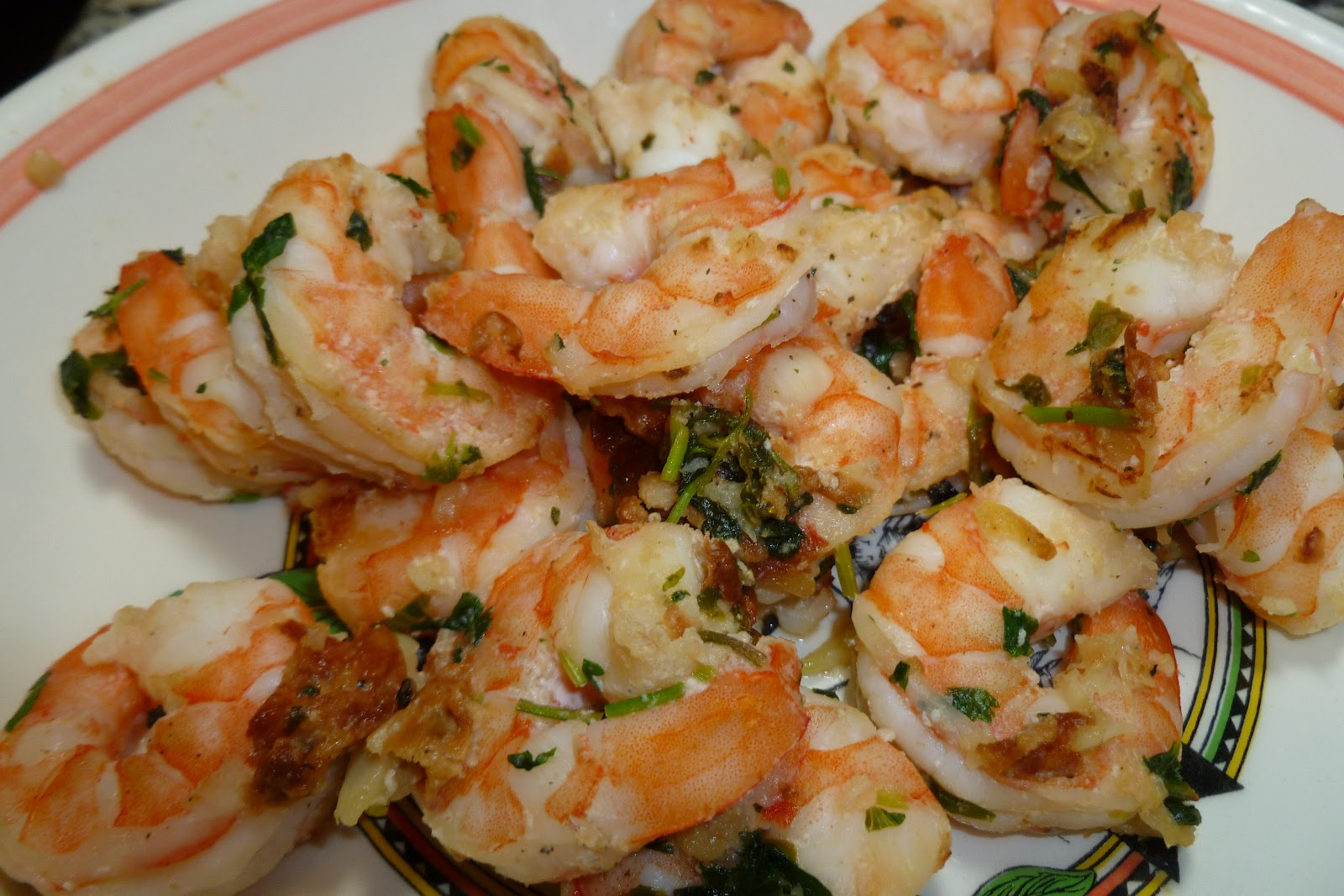 Cilantro Lime Shrimp - made October 17, 2012 from Skinny Taste