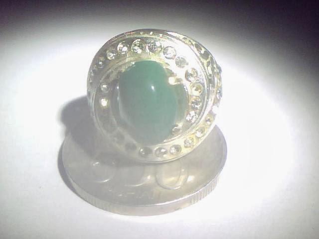 Batu cincin garut hijau