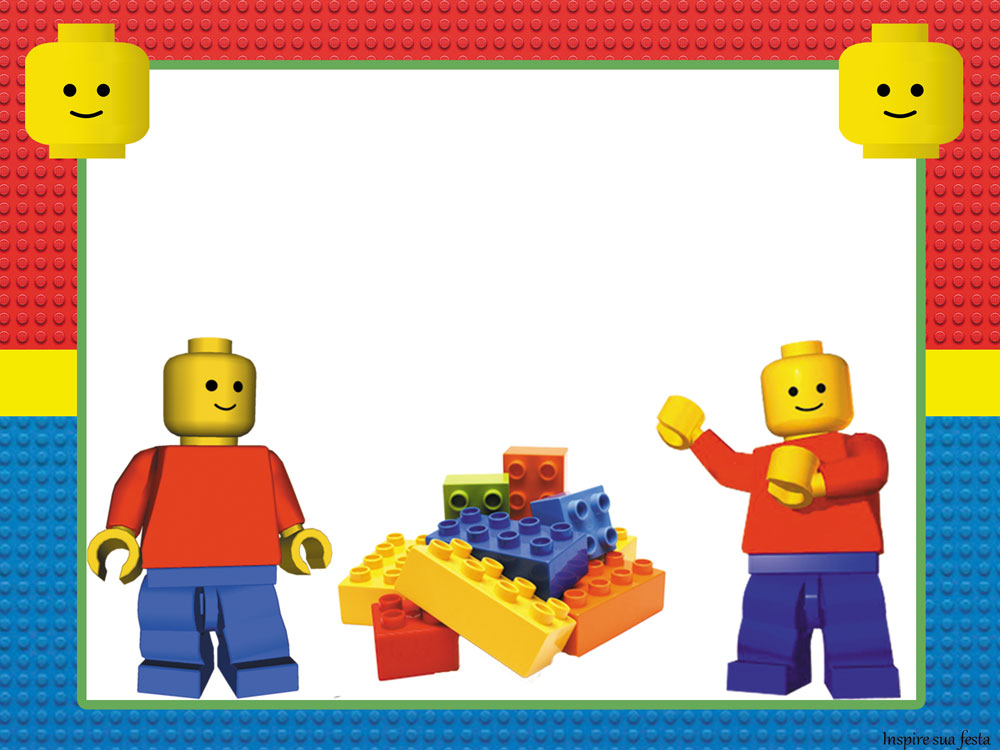Lego Party: Free Printable Invitations. - Oh My Fiesta! for Geeks