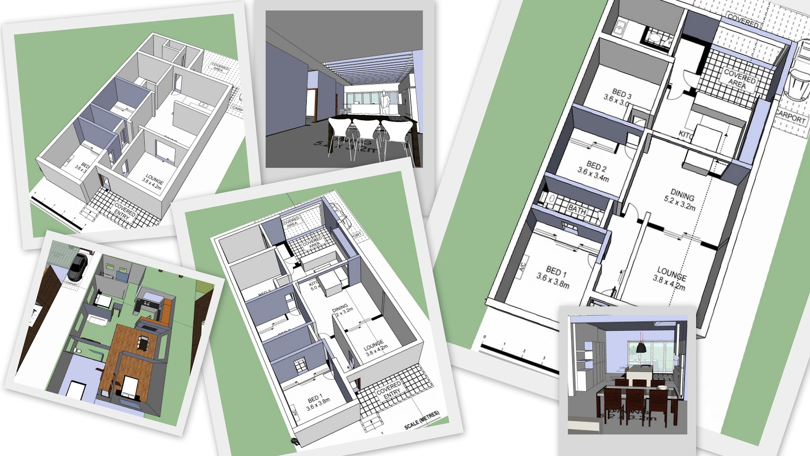 Unleash The Creative Beast Floor Plans With Google Sketchup Renovating A Sydney House
