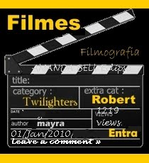 FILMOGRAFIA DE ROBERT PATTINSON