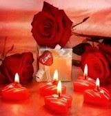 Image d'amour romantique pour l'anniversaire de mariage