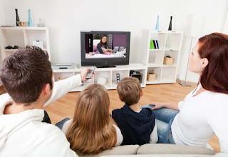Jarak aman & nyaman menonton tv di ruangan
