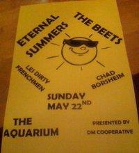 Iamtheleastmachiavellian The Beets Live At The Aquarium