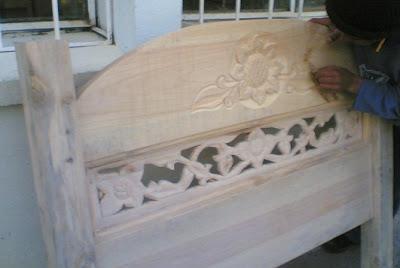 Muebles domoticos como se hace una cama en madera partes medidas y pasos - Hacer una cama de madera ...