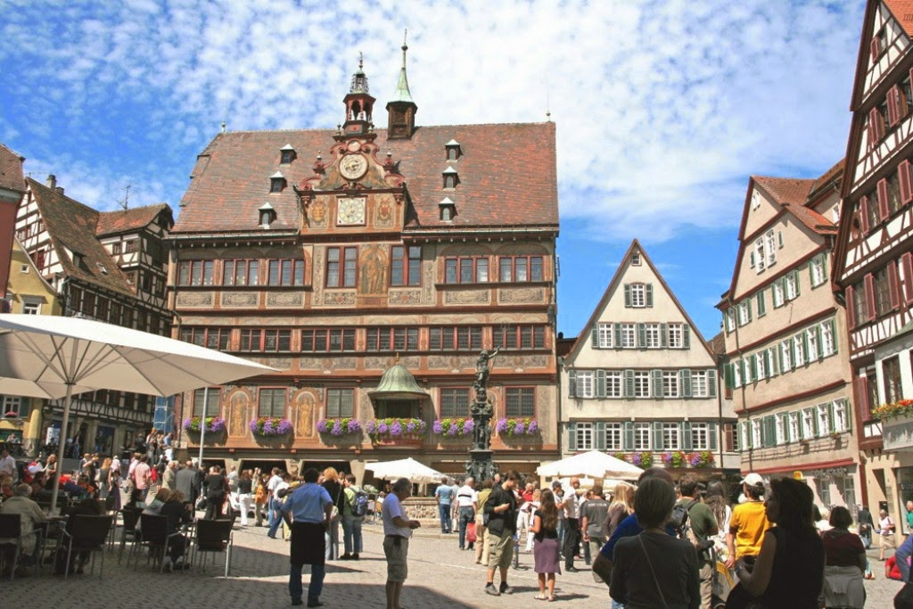 I'LL BE APPEARING AT TUEBINGEN BOOK FESTIVAL IN MAY