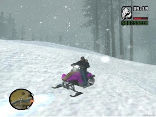 Download game GTA San Andreas: Snow (MOD) 2013