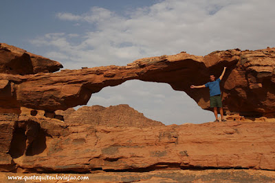 Wadi Rum Desierto Rojo - Viaje a Jordania