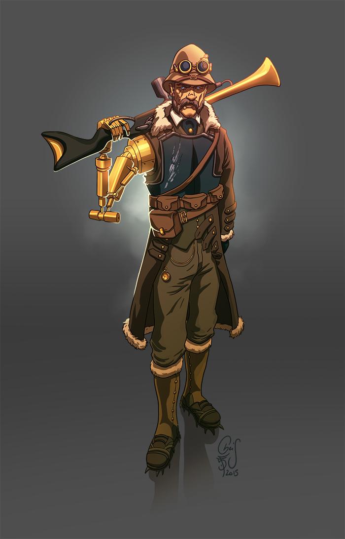 Character Design Challenge Masterchef : Kris s playground character design challenge steampunk