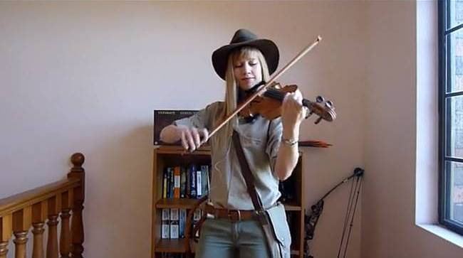 Hot Pink Ranger Violinist Lara De Wit Sexy