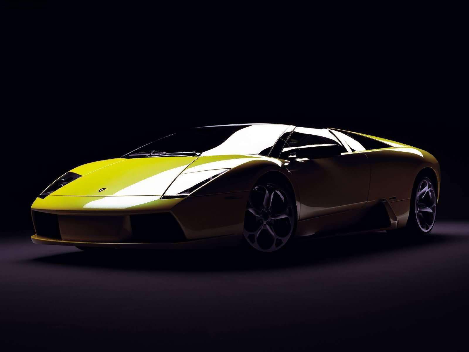 The Lamborghini ...