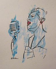Billie Holiday (Sold)