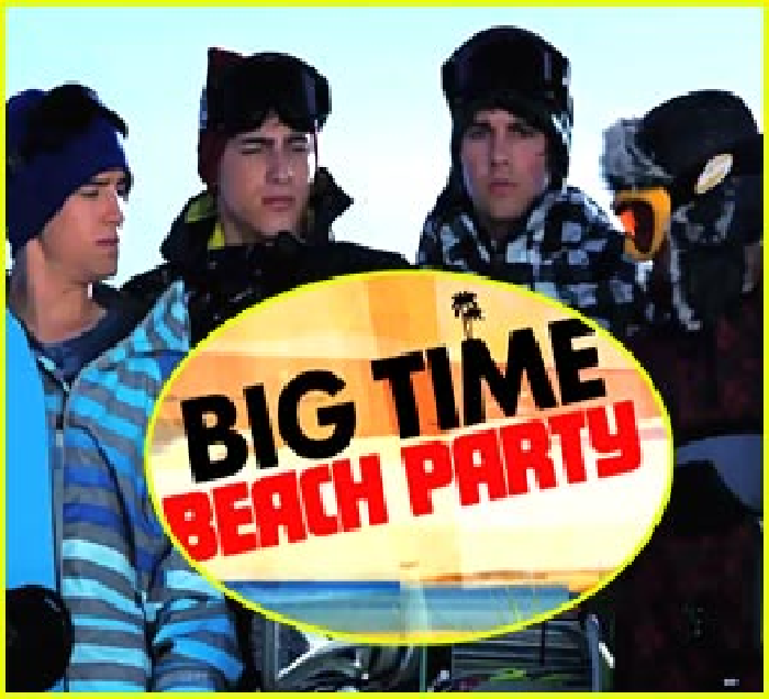 Big Time Rush : Big Time Beach Party