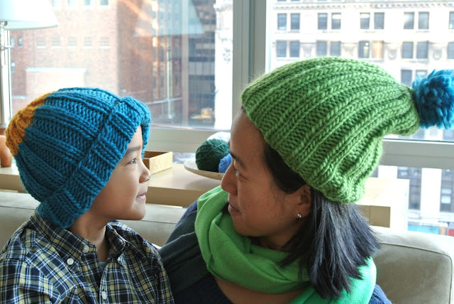 Bright Wooly Hats