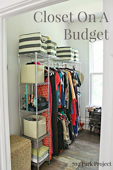 Closet On A Budget @ 702 Park Project