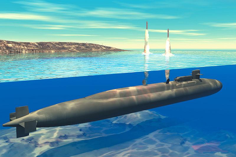 запуск всего боекомплекта с подводной лодки