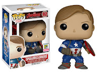 Funko Pop! Captain American Unmasked