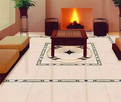 Design of floor tiles