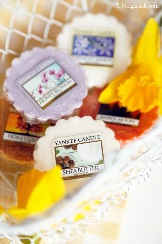 Yankee Candle Shea Butter and Spring Fragrances