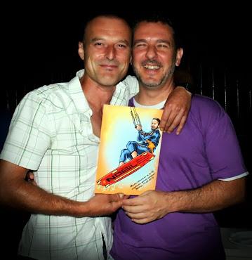 Con Juan Guerra