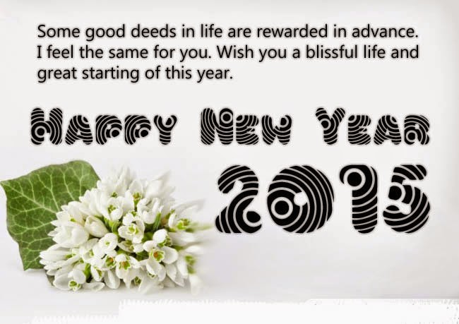Greeting Happy New Year 2015 Quotes – Latest New Greeting Images