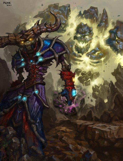 Miao Zhang kekse0719 deviantart ilustrações fantasia fan arts games