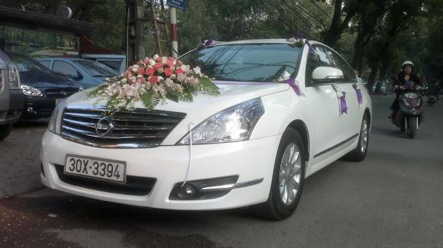 Xe cưới Nissan Teana