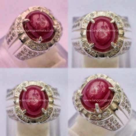 Batu Permata Ruby asli Natural Berkualitas Harga murah