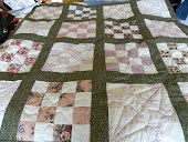 Hand quilted comfort rug!
