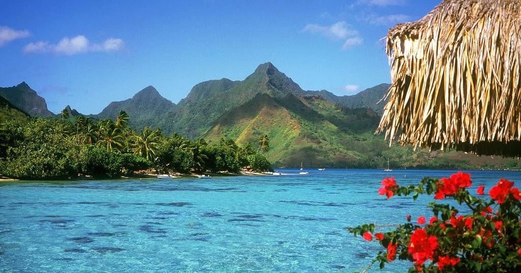 Bora Bora in Polynesia, France