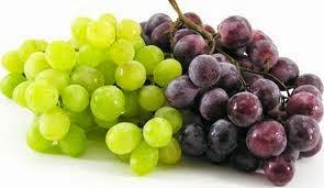 Frutas que no Engordan, Las Uvas, Calorias y Beneficios