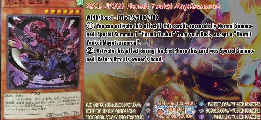 SECE-JP026 Hermit Youkai Magatsusenran 「妖仙獣 凶旋嵐」