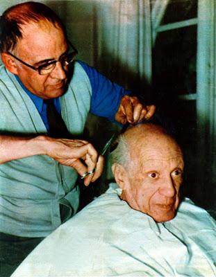 Picasso bij de kapper