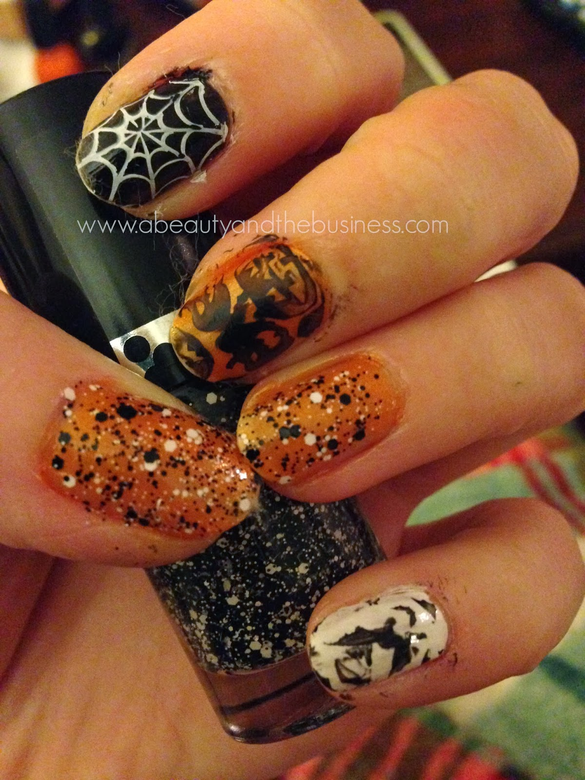 Holiday Nails: Halloween Edition!!!