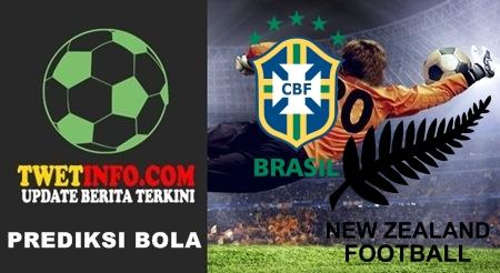 Prediksi Brazil U17 vs New Zealand U17