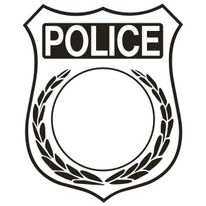 Gutsy image with regard to printable police badges