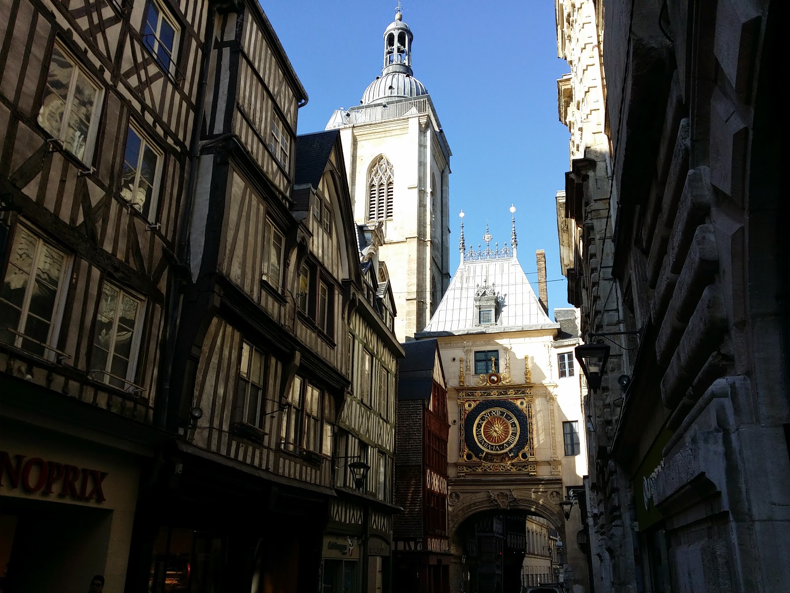 Les points sur les i: Rouen !